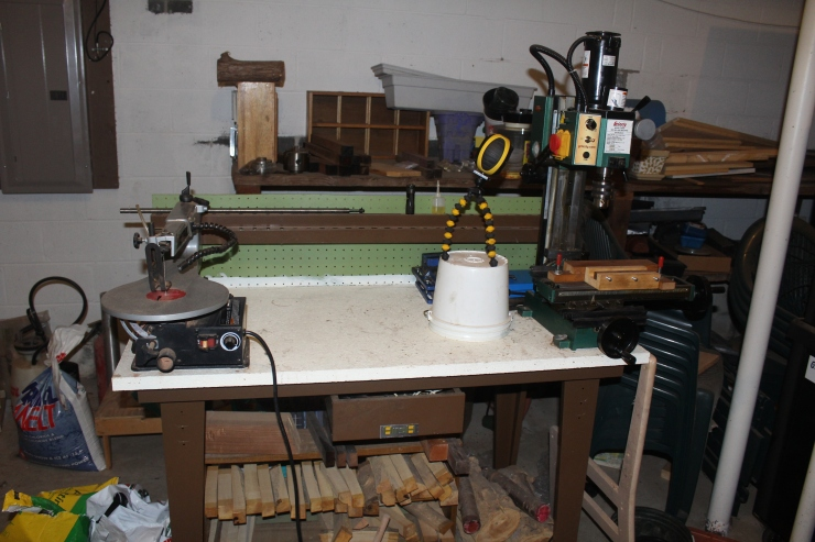 mill and scroll saw